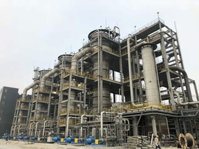 嶺南生物質大型發酵設備在北京首鋼集團調試成功